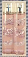 NEW! 2 Bath & Body Works TWISTED PEPPERMINT Fine Fragrance Mist Spray