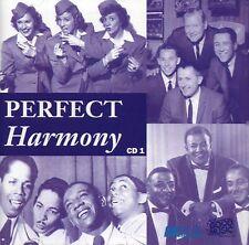2 CD BOX PERFECT HARMONY MARCELS BEACH BOYS SWINGLE MILLS BROTHERS INK SPOTS ETC
