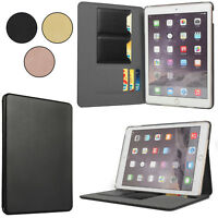 Slim Flip Leather Case for iPad 6 5 4 3 2 Pro Air 9.7 3D Protective Cover Stand