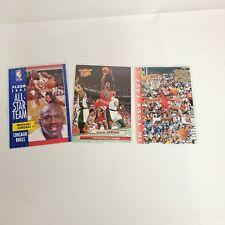Michael Jordan 1990s Trading Cards Fleer  27 UPPER DECK 453 Basketball NBA Lot 3