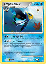 Empoleon Rare Pokemon Card Pt1 Platinum 26/127