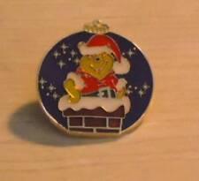 POOH SANTA SUIT In CHIMNEY Ornament XMAS 2007 LE 1600 Disney HTF MYSTERY PIN