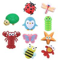 Cartoon Animal USB Cable Bite Cute Phone Charger Protector Soft Cord Access #Buy