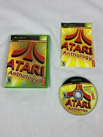 Atari Anthology Original Microsoft XBOX Video Game 2004 TESTED COMPLETE