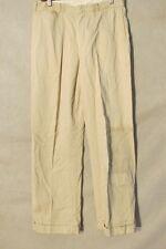 D9240 No Brand Beige Late 40's Buckle Back Cool Vintage Pants Men's 31x30