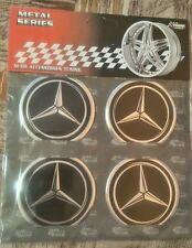 4x Mercedes-BENZ wheel cap stickers - 60 mm