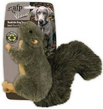 Classic Plush Squirrel Dog Toy Inner Squeaker
