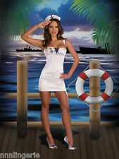 Dreamgirl Lingerie Sexy Anchors Away Costume Roleplay Set