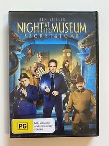 Night At The Museum Secret Of The Tomb (DVD, 2014) Region 4 With Robin Williams