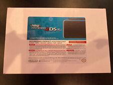 Nintendo 2DS XL Black Turquoise Handheld System Nintendo Refurbished
