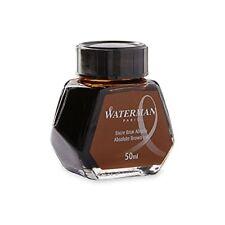 Waterman Absolute Brown Ink Bottle 50ml