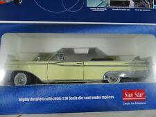 1:18 Sun Star Platinum #5152 1959 Mercury Parklane Convertible Giallo - Rarità