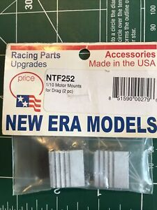 New Era Models NTF252 1/10 Nitro Motor Mounts fits Traxxas 4TEC HPI RS4 NMT RC10