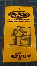 ESR 9 Pro Narrow Inline Dragster Chassis 1/24 Mid America Naperville