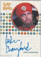 THE COMPLETE LOST IN SPACE JOHN CRAWFORD DR. CHRONOS RARE UNRELEASED AUTOGRAPH
