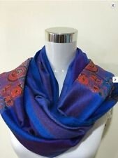 Unbranded Pashmina Striped Scarves and Wraps for Women