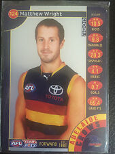 2013 Team Coach - Silver - 124 - Matthew Wright - Adelaide Crows