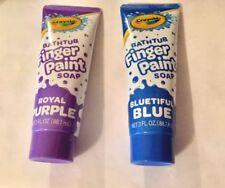 Crayola Bathtub Fingerpaint Purple and Blue