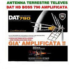 ANTENNA DIGITALE TERRESTRE DVBT DTT TELEVES DAT HD BOSS 790 FILTRO LTE G45dbi