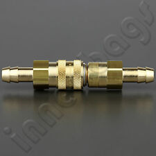 """BMW R series 5/16"""" Brass Fuel Hose Metal Quick Release Disconnect Coupling"""