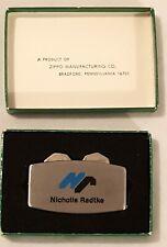 "Zippo Greenskeeper Golf Tool Advert ""Nicholls Radtke"" Company Canada Ca 1980's"
