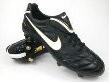 Nike Men's Tiempo Legend III SG Football Boots - Black/Gold - UK 12 - New