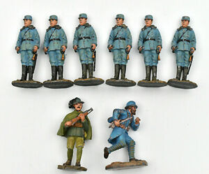 Eight Soldiers Lead Military Fab. Contemporary Quality (D)