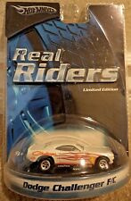 HOT WHEELS REAL RIDERS DODGE CHALLENGER F/C H9217 *NEW*