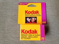 35mm film Kodak 200 x24 exp. Good for lomography. Expired in 2003.Fast shipping.