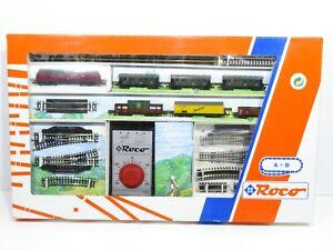 Roco N 21031 Start-Set mit V200 + 6 Wagen + Gleise + Trafo / in OVP