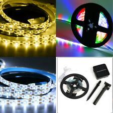 Solar LED Strip Streifen 2835 Lichtleiste Außen Wasserdicht Lichtband Party Deko