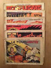 Alain la Foudre - Collection Victoire numéros 4/5/6/7/9/10 - 1938-39