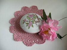 Elizabeth Arden TRINKET BOX, Ceramic 2 Pc. Bowl, Jewelry Box, Collectible Bowls