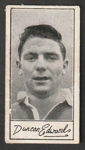 BARRATT confectionary Manchester United ENGLAND Duncan Edwards A5 series 1959