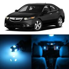 16 x Ice Blue LED Interior Lights Package For 2009 - 2014 Acura TSX + PRY TOOL