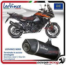 Leovince Nero Pot D'Echappement acier KTM 1290 super adventure R/S/T 2017>