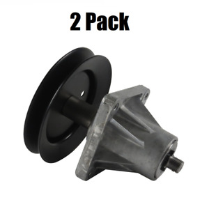 (2) MTD 918-0625B Replacement Part Pulley Spindle Assembly GENUINE