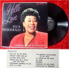 LP Ella Fitzgerald: Hello Love w/ Frank deVol