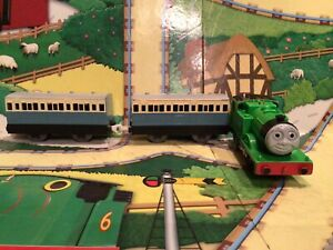 thomas the tank engine Tomy trackmaster trains Oliver And Blue Passenger Coaches
