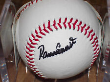 BASEBALL SIGNED BY RAMON FLORES