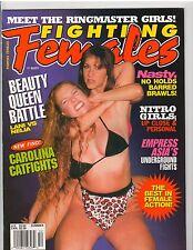 Fighting Females Wrestling Magazine Diva's /Nitro Girls/Beauty Queen Spring 2000