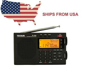 TECSUN PL-330 PLL DSP SSB Multi Band Radio  **ENGLISH VERSION / Firmware 3306**