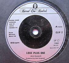 "HAIRCUT 100 - Love Plus One - Excellent Condition 7"" Single Arisata CLIP 2"