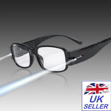NEW Light Up Glasses - Black Glasses with Led Lights Fancy Dress Accessories