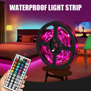 12V RGB 5M Meter 300 LED 3528/5050 SMD Waterproof Flexible Light Strip Sales
