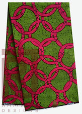 Ankara African Print Fabric Wax Textile Wholesale African Art 6 yards