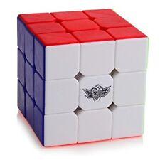 Rubiks Cube Stickerless Magic Puzzle Fun Smooth Kids Toy Brain Game 3x3x3 Speed