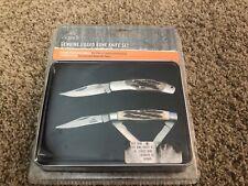 GERBER New genuine jigged bone knife set