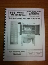 Winona Van Norman AB9000 Shot Blaster Manual