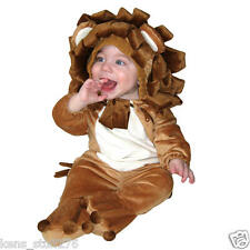 Plush Lion Halloween Costume. Size 6-12 mth Jumper, Trick or Treat Play Theater